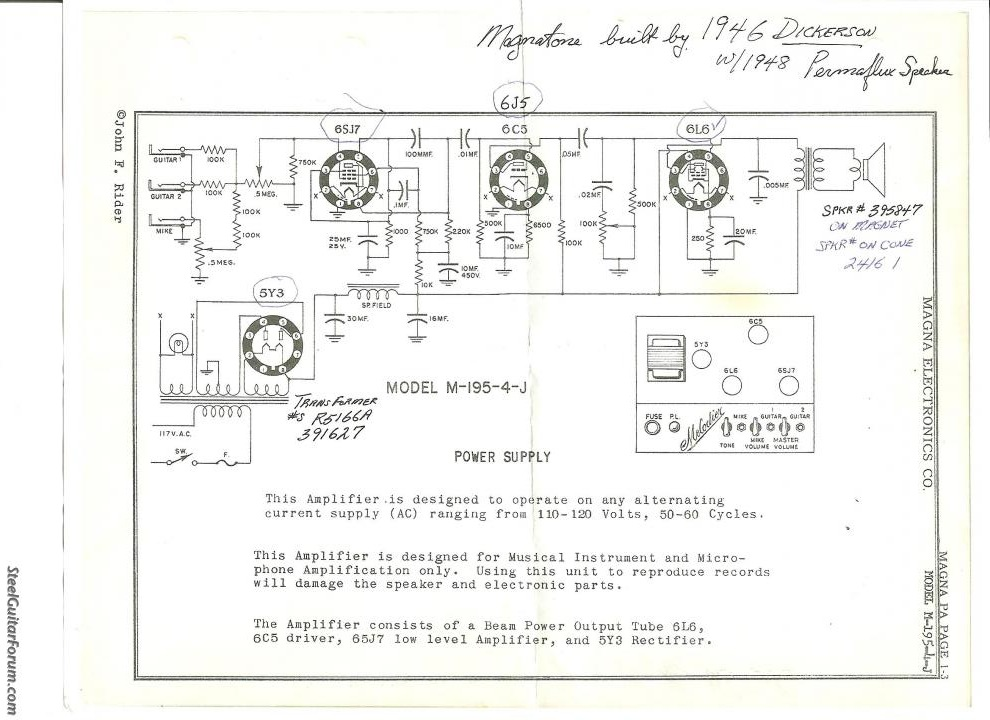 MagnatoneAmps.com Vintage Magnatone Amplifier Schematic on vintage stereo amplifier, airline amplifiers, vintage hi-fi tube, magnatone twilighter amplifiers, vintage 1950s wood speaker, vintage magnatone guitar, vintage marshall amp models, vintage magnatone m9, vintage amps 1960, magnatone trubador guitar amplifiers, 1960s guitar amplifiers, rare magnatone amplifiers, vintage magnatone troubadour,